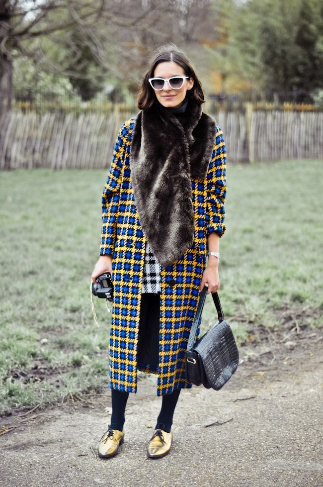 Mad for plaid #lfw #streetstyle