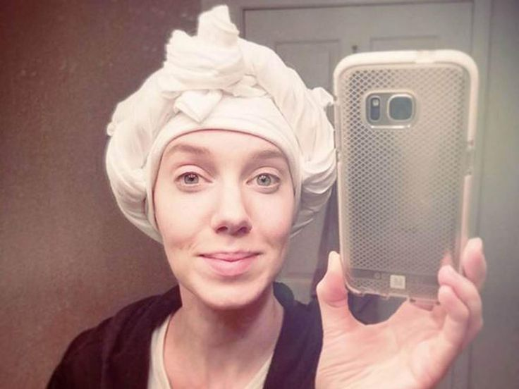 How to dry your hair without heat damage: Plop it (yes, really) | The Independent