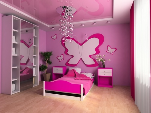 Las niñas suelen preocuparse más por la apariencia de sus espacios y de ellas mismas, es habitual