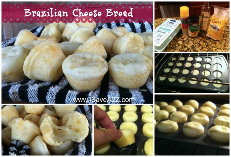 Easy Brazilian Cheese Bread Recipe — Dishmaps