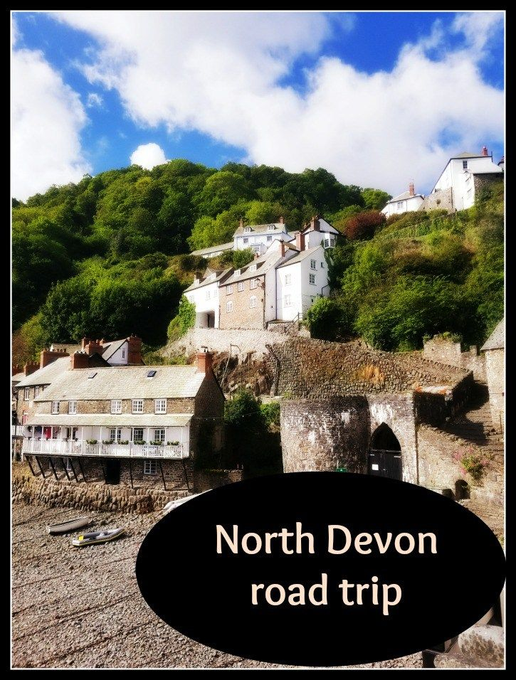 Follow us on our road trip around North Devon: Clovelly, Bideford, and South Molton in the southwest of England.