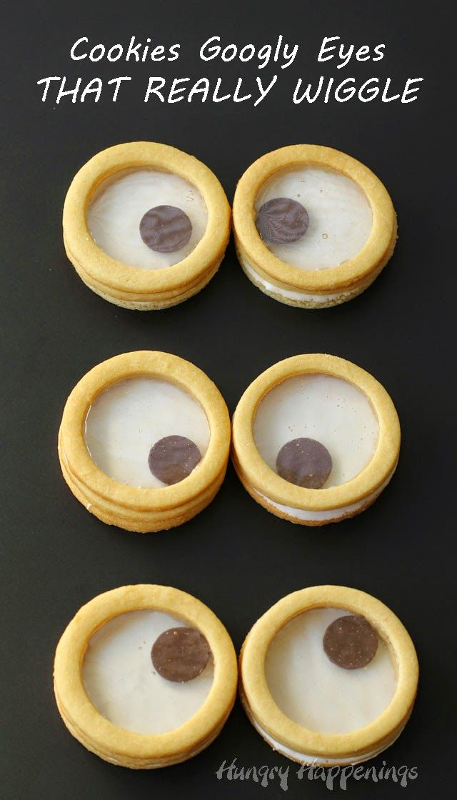 3-D Cookie Googly Eyes that really Wiggle from HungryHappenings.com