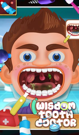 "Hey kids, have you ever imagined about become a Professional Dentist? Here GameiMax has arrived with Wisdom Tooth Doctor for you. By this game you can learn how to apply dental treatment and how to use all the tools for tooth treatment. Mainly two view included inside the game ""Teeth View"" & ""Tongue View"". Some patients are waiting for proper dental treatment. As the game start, brush the teeth, wash it using shower, remove cavities, horrible germs, dark spot like black dot and Blood dots…"