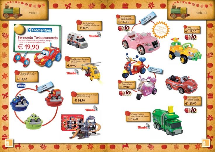 Volantino Natale 2012 Io Bimbo Sardegna #giocattoli #volantino #Natale #IoBimboSardegna