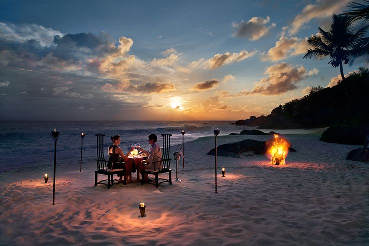 Delicious dining from sushi to thai at the Banyan Tree in the #Seychelles. #GourmetAfrica #Africa #cuisine #island #beach