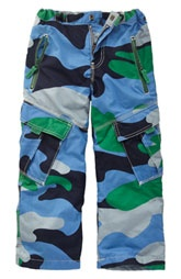 Mini Boden cargo pants. I know a little boy that would go nuts over these!