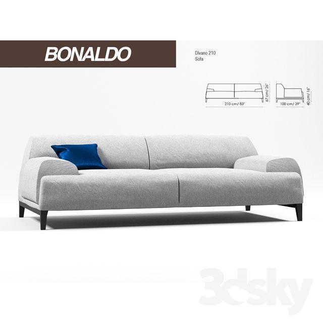 3d models: Sofa - Banaldo Cave SOFA