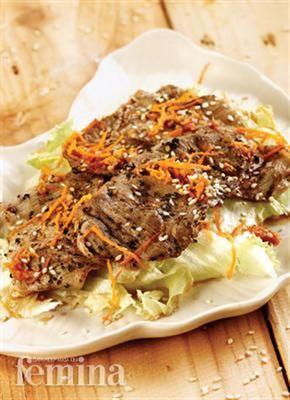 Femina.co.id: Salad Daging Sapi #resep #menudiet