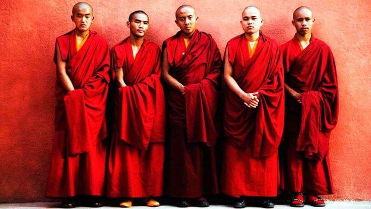 Buddhist monk Buddhists and Karma tattoo on Pinterest
