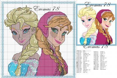 Frozen Disney Plastic Canvas Patterns - Bing Images