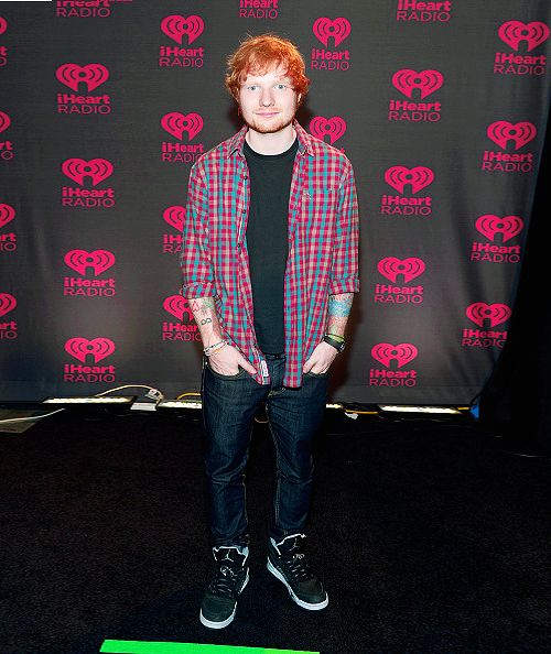Ed Sheeran attend the 2014 iHeartRadio Music Festival at the MGM Grand Garden Arena on September 20, 2014 in Las Vegas, Nevada.