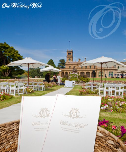 Mansion Hotel at Werribee Mansion provides a magnificent background for your ceremony and stunning gardens for your photography.   See the stunning venue in Celine and Micheal's highlight http://livinglens.com.au/blog/867/celine-michael-say-the-word/  #werribeemansion #weddings #oneweddingwish #weddingvenue