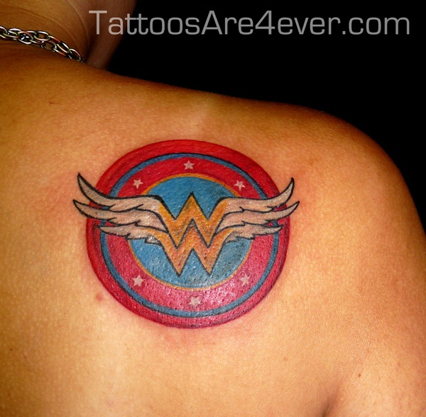 17 best images about tattoos on pinterest wonder woman for Tattooed wonder woman