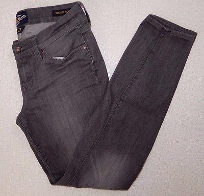 "Lucky Brand Charlie Skinny 4 / 27"" Gray Skinny Jeans Pants"