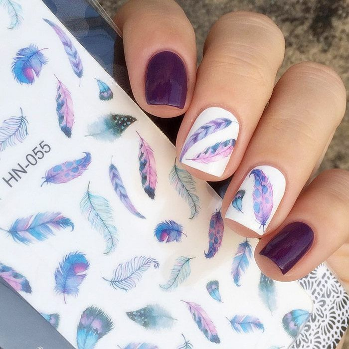 145 best Nail - Water Decal & Stencil images on Pinterest | Fabulous ...