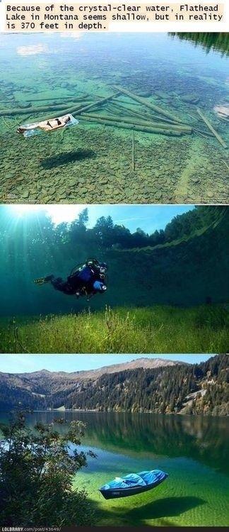 Flathead Lake, Montana - Places to SUP bucket list!