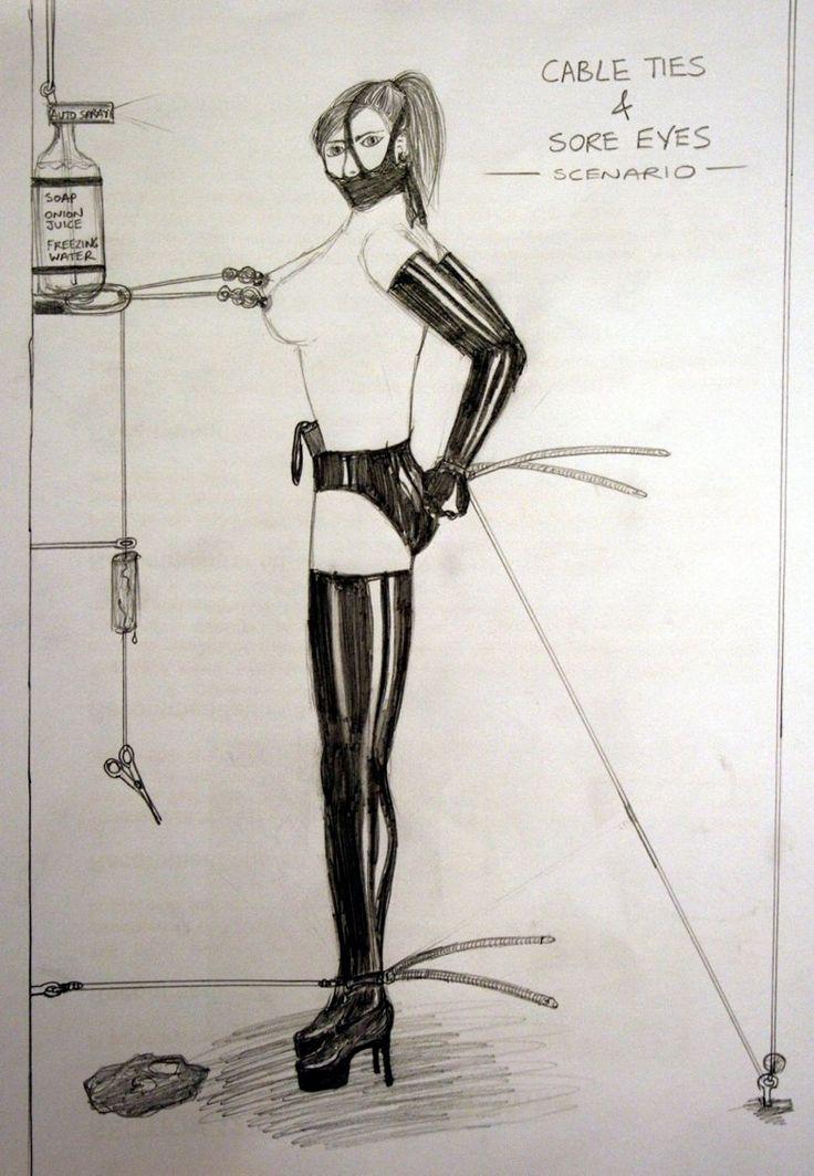 Are women in bondage predicaments not take
