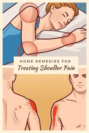 Home Remedies for Treating Shoulder Pain