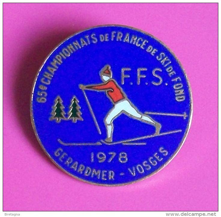 SKI - 65 ème championnat de France de SKI de fond - GERARDMER  1978  ( Vosges )