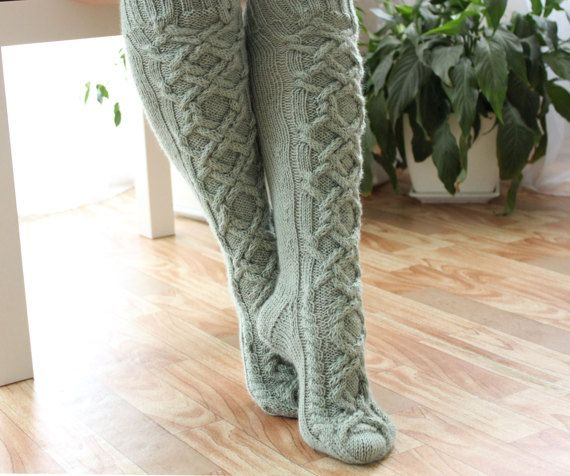 Wool socks Boot socks Womens socks Knee high socks Womens wool