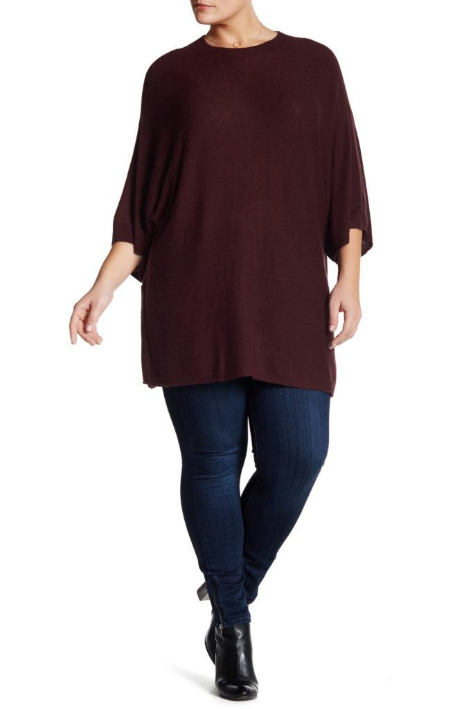 10 Plus Size Long Sweaters To Wear With Leggings | Long ...