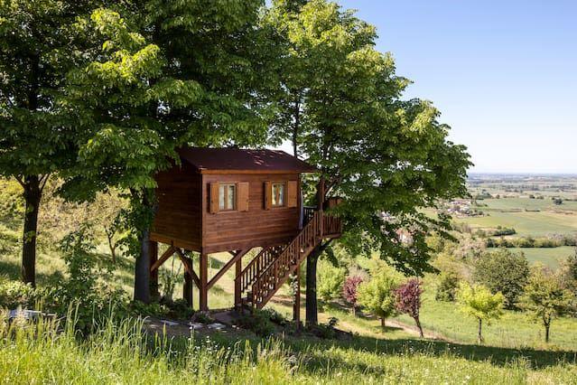 Aroma(n)tica TreehouseinMonferrato - Casa na árvore