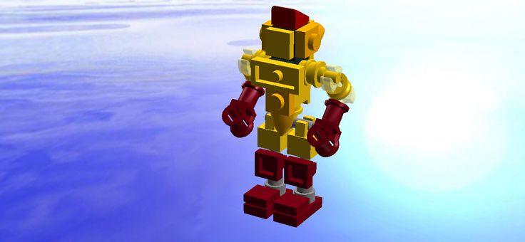 Lego Real Steel mini Midas
