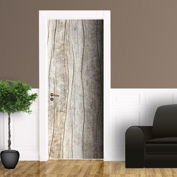 17 migliori immagini adesivi per porte rivestimento porte su pinterest murales pallet e porte - Riscaldare la casa in modo economico ...
