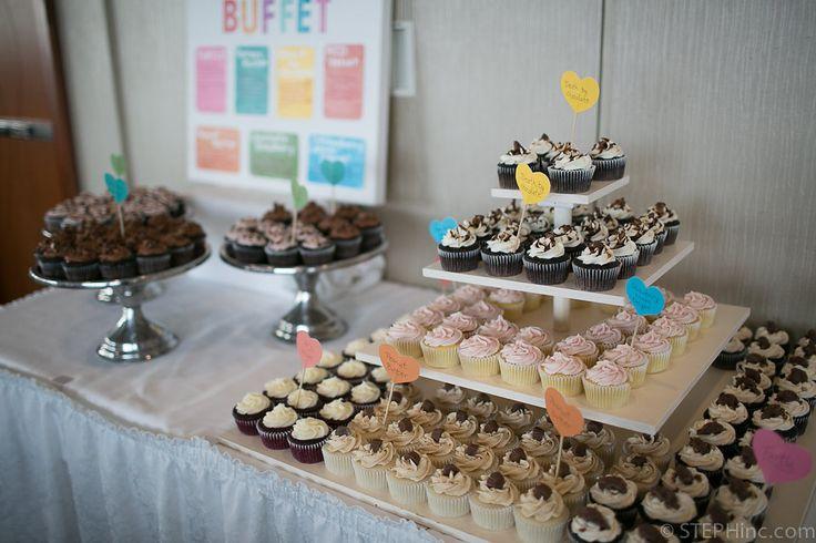 Delta Prince Edward - Cupcake buffet and dessert display.