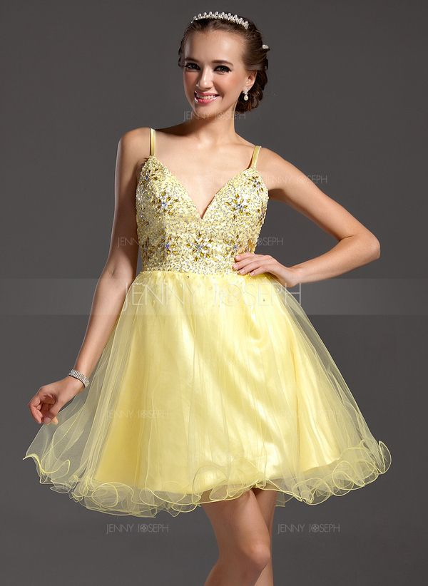http://www.jennyjoseph.com/A-Line-Princess-V-Neck-Short-Mini-Satin-Tulle-Homecoming-Dress-With-Beading-022011006-g11006