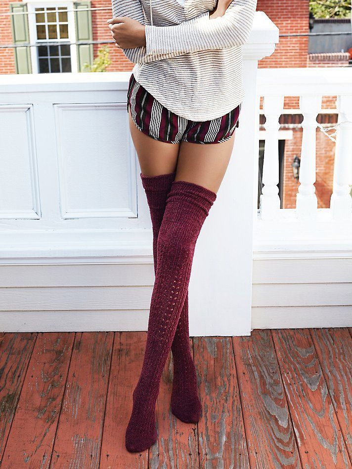 Our favorite thigh high socks are now 3 for $30, layer up.