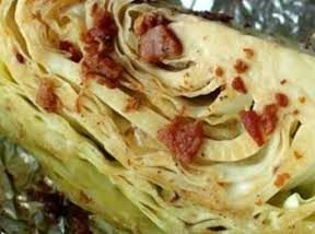 Baked or Grilled Cabbage Wedges
