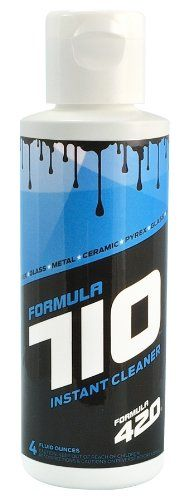 Formula 710 Instant Cleaner Safe On Pyrex, Glass, Metal, and Ceramic by Formula 420 (4oz - Small)