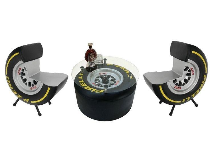 JBFP007 - Formula One PIRELLI Tire Chairs &  PIRELLI Tire Coffee Table - JBFP007 - Formula One PIRELLI Tire Chairs &  PIRELLI Tire Coffee Table.jpg
