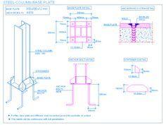 steel_column_base_plate_footing_stiffeners_anchor_bolts_placa_apoio_ancoragem_pilar_metalico_enrijecedores_poteau_metallique_plaque_appui_ancrage_acciaio_piastra_appoggio_ancoraggio_cad.png (400×300)