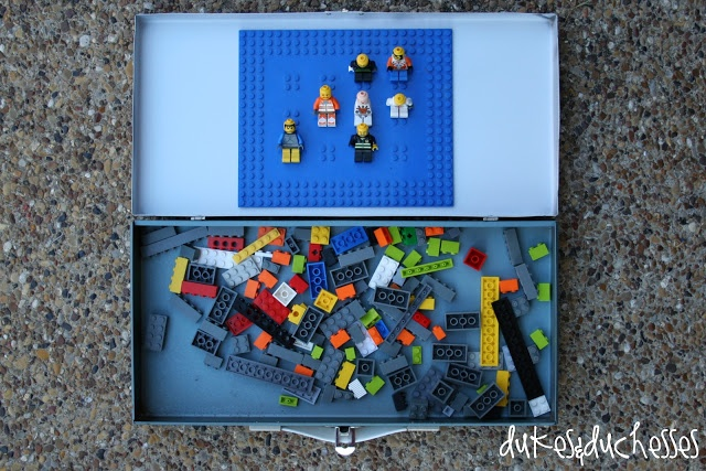 travel box for Lego