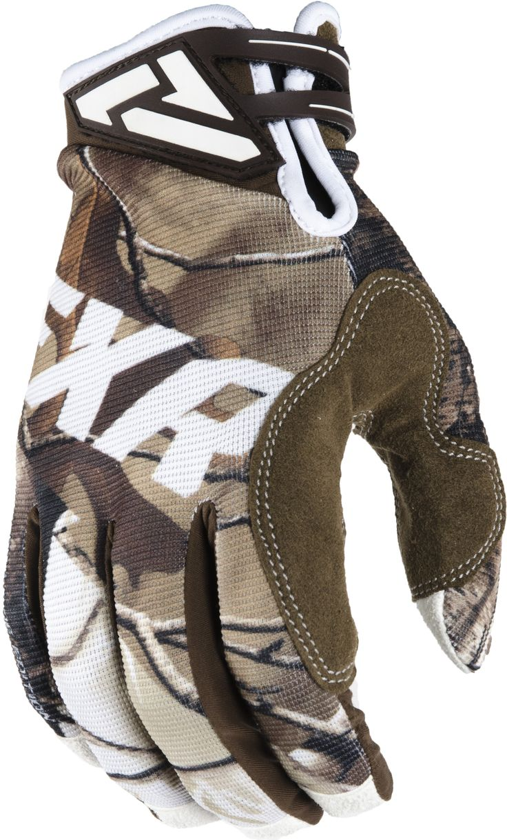 Diavolo leather motorcycle gloves - Fxr Racing 2015 Mx Apparel Factory Ride Edition Adjustable Glove Realtree Xtra