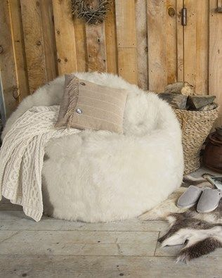 Sheepskin & Leather Bean Bags - Buy Online | Celtic & Co