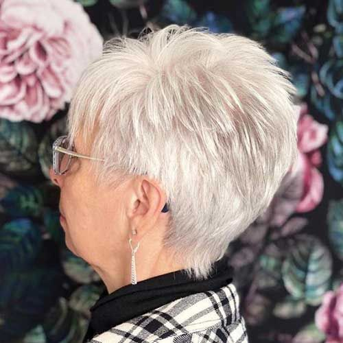 Short Pixie Hair for Older Women