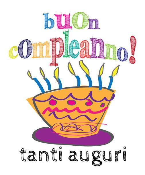 527 Best Images About Buon Compleanno On Pinterest