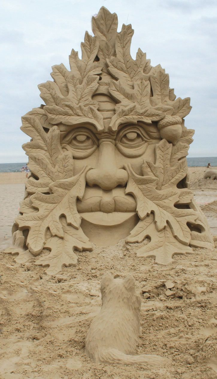 Best Sand Sculptures Images On Pinterest Sand Art Sculpture - This towering sand sculpture just broke the world record for the tallest ever sandcastle