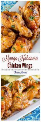 Mango Habanero Wings - Food Recipes