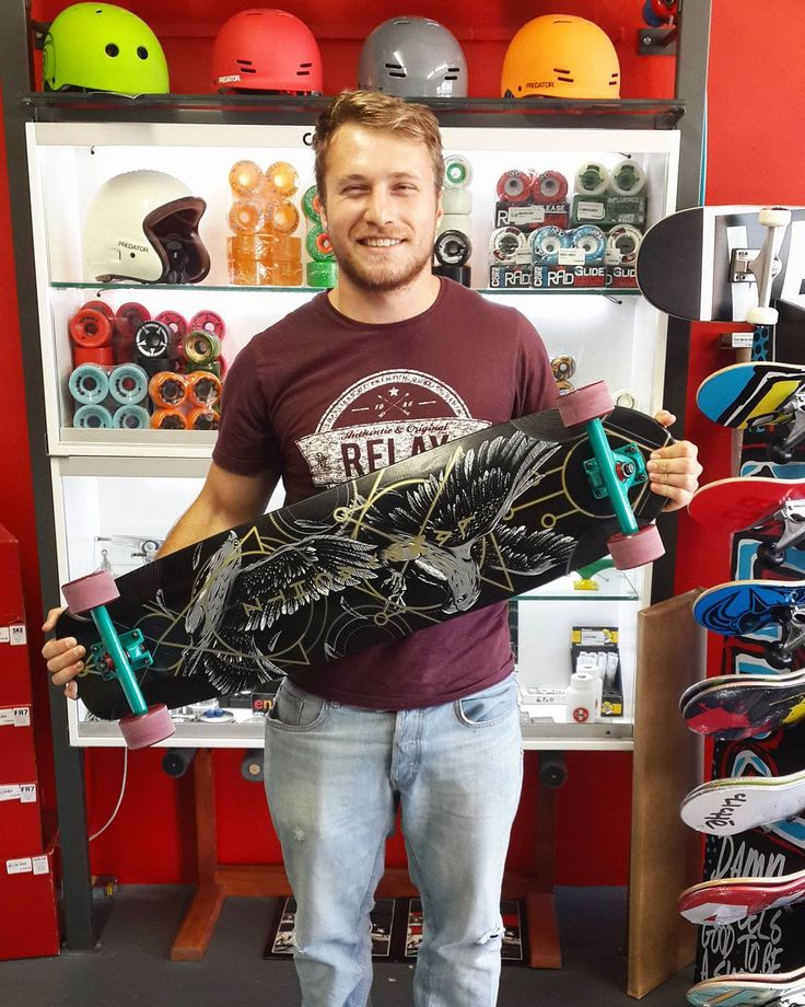 Mad stoked we could wish the dude @christopher_roelofse a #madstokemonday when he came in to get this fresh setup!  A @landyachtzlongboards Canyon Arrow complete with Midnight Green @calibertrucks 78a @gunslinger_sa x @gunslinger_boards Tumbleweeds Indy 5 bearkngs from @independenttrucks held together with @sabretrucks hardware! Enjoy it skate safe & stay stoked bro!   #csskateshop #landyachtzlongboards #skateandexplore #gunslingerwheels #caliber #trucks #sabre #hardware