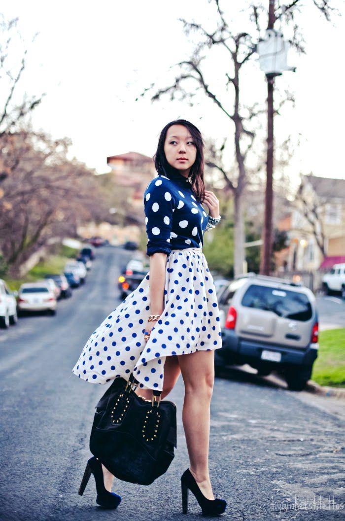 #polkadots #dots #fashion #patternmixing: Style, Cute Outfits, Polka Dot Patterns, Polka Dots Patterns