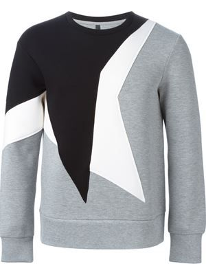geometric motif sweatshirt