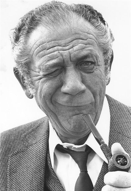 Sid James was a South African-born English actor and comedian. Appearing in British films from 1947, he was cast in numerous small and supporting roles into the 1960s. His profile was raised as Tony Hancock's co-star in Hancock's Half Hour, which ran on television from 1956 until 1960, and then he became known as a regular performer in the Carry On films, appearing in 19 films of the series with the top billing role in 17, in the other two he was cast below Frankie Howerd.
