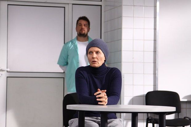 "Famous Polish actress Grażyna Szapołowska in new movie of Dorota Jungowska ""Piąte: nie odchodź"" (The fifth commandment: Don't depart""). Film starts in cinemas around Poland in february. www.tofifest.pl"