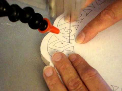 ▶ Scroll Saw Class Lesson 7 - Cutting Inside Corners & Angles.wmv - YouTube