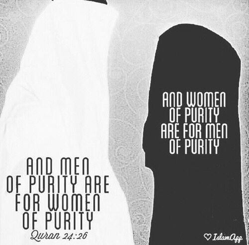 Do not stray away from purity.