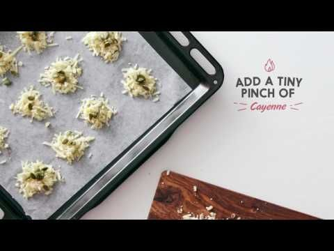 Easy Cheesy Crisps | We Are What We Eat
